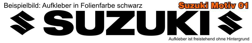 Suzuki Schriftzug Aufkleber Design Tuning Car Sticker Heck